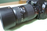 TAMRON 70-300 LD with α