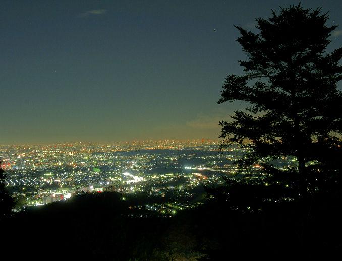 いつもの場所からの夜景